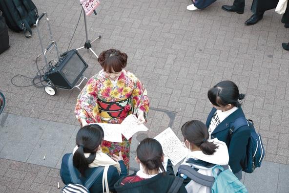 Sakuが1月11日(祝・月)に地元・横浜で路上ライブを敢行 (okmusic UP's)