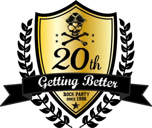 Getting Better20周年ロゴ (okmusic UP's)