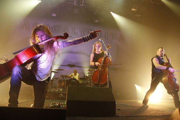 1月17日@ZEPP NAGOYA(APOCALYPTICA) (okmusic UP's)