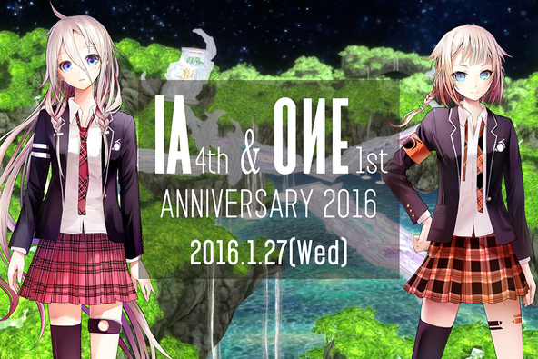 『IA & ONE ANNIVERSARY PARTY!! -SPECIAL TALK & LIVE-』 (okmusic UP's)