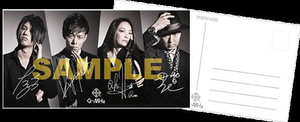 TSUTAYA RECORDS:メンバープリントサイン入りアーティスト写真ポストカード (okmusic UP's)