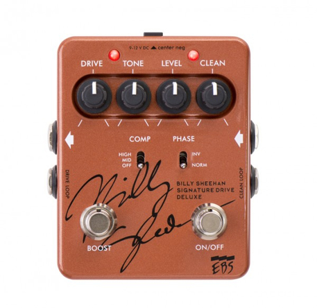 EBS Billy Sheehan Signature Drive Deluxe (okmusic UP's)