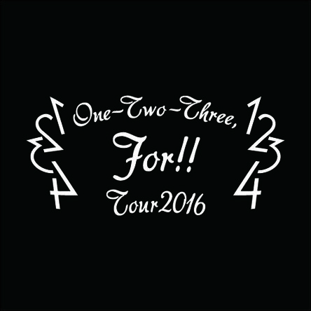 『One- Two-Three, For!! TOUR 2016』 (okmusic UP's)
