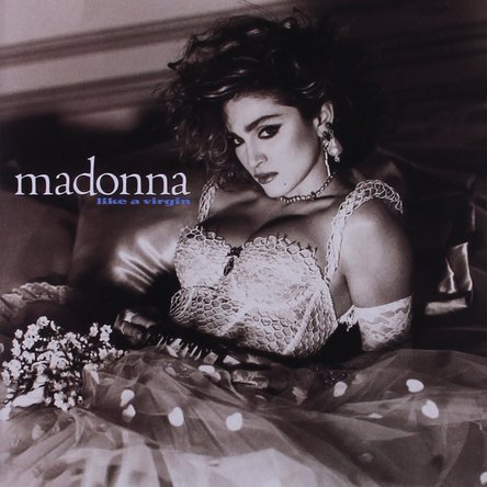 Madonna『Like a Virgin』のジャケット写真 (okmusic UP\'s)