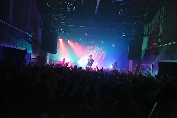 2月8日@京都・MUSE HALL (okmusic UP's)