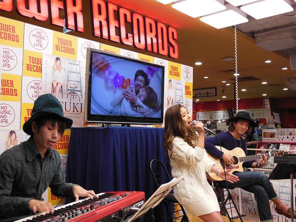 2月14日@タワーレコード渋谷店 (okmusic UP's)