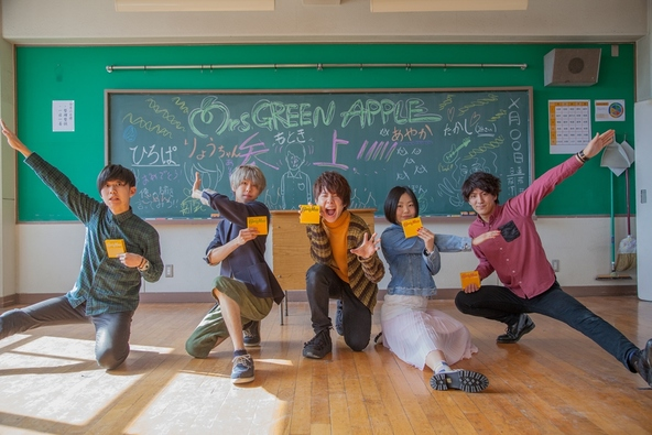 Mrs. GREEN APPLE×カロリーメイト (okmusic UP\'s)