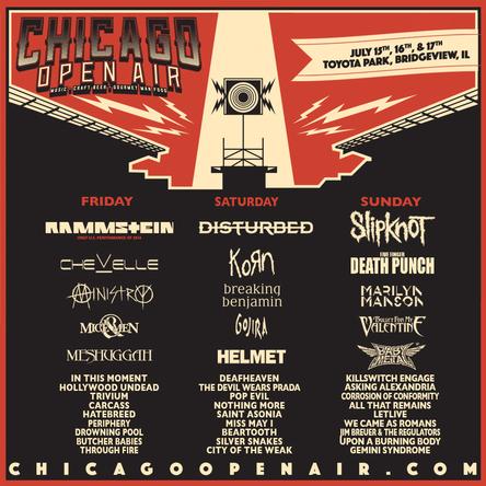 「CHICAGO OPEN AIR」 (okmusic UP\'s)