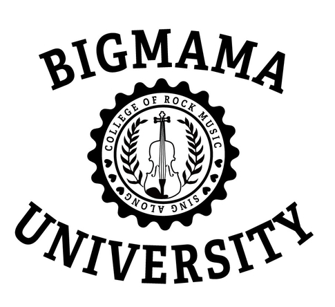 「Welcome to BIGMAMA University」ロゴ (okmusic UP's)