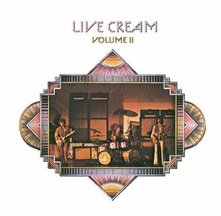 Cream『Live Cream Volume 2』のジャケット写真 (okmusic UP\'s)