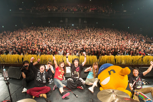 2月20日@Zepp Tokyo (okmusic UP's)
