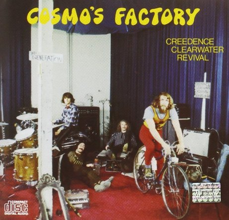 Creedence Clearwater Revival『Cosmo's Factory』のジャケット写真 (okmusic UP's)