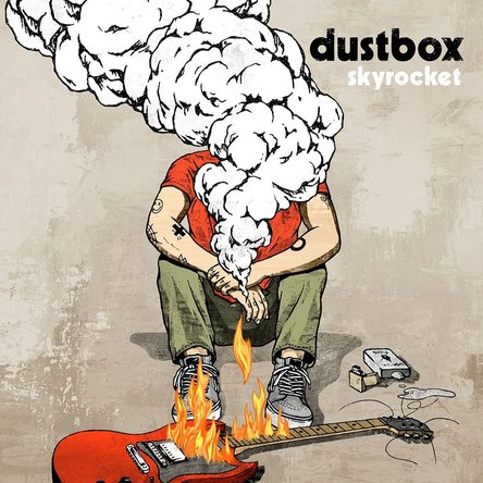 dustbox『skyrocket』のジャケット写真 (okmusic UP's)