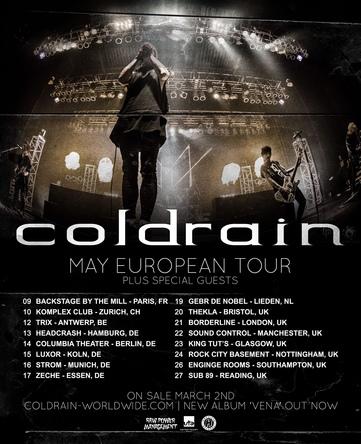 「MAY EUROPEAN TOUR」 (okmusic UP's)