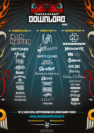 「Download Festival France」 (okmusic UP's)