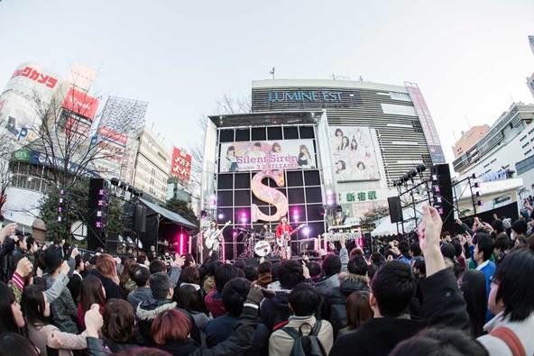 3月2日@新宿ステーションスクエア (okmusic UP's)