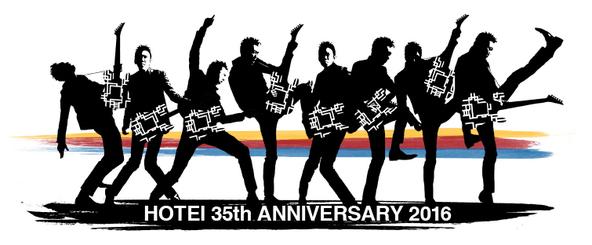 布袋寅泰 35th ANNIVERSARY ロゴ (okmusic UP's)