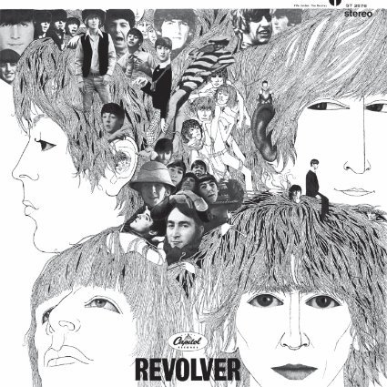 The Beatles『Revolver』のジャケット写真 (okmusic UP\'s)