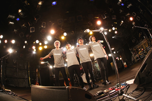 3月20日(日)@渋谷CLUB QUATTRO (okmusic UP's)