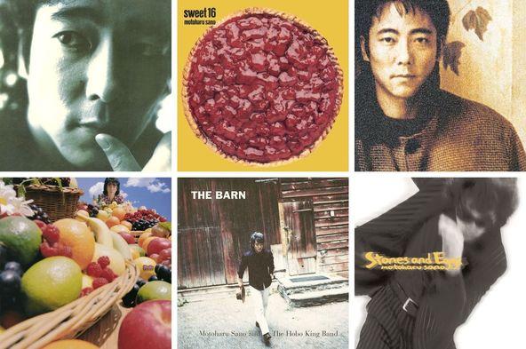佐野元春が90年代に発表したオリジナル・アルバム6タイトル (okmusic UP's)