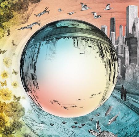 アルバム『TIMELESS WORLD』フィルムを乗せたイメージ (okmusic UP's)