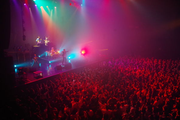 3月26日(土)@Zepp Tokyo (okmusic UP's)