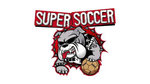 「SUPER SOCCER」ロゴ (okmusic UP's)
