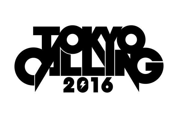 「TOKYO CALLING 2016」ロゴ (okmusic UP\'s)