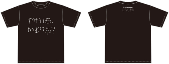 メジャーデビュー記念Tシャツ(黒) (okmusic UP's)