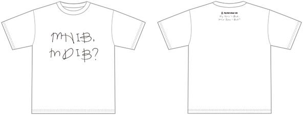 メジャーデビュー記念Tシャツ(新潟店限定:白) (okmusic UP's)