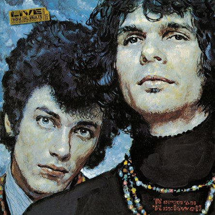Mike Bloomfield and Al Kooper『The Live Adventures of Mike Bloomfield and Al Kooper』のジャケット写真 (okmusic UP\'s)