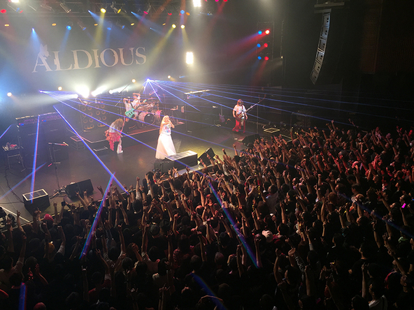 4月9日@渋谷TSUTAYA O-EAST (okmusic UP's)