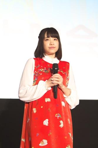 「装神少女まとい」先行上映会で、戸松遥演じるクラルスに