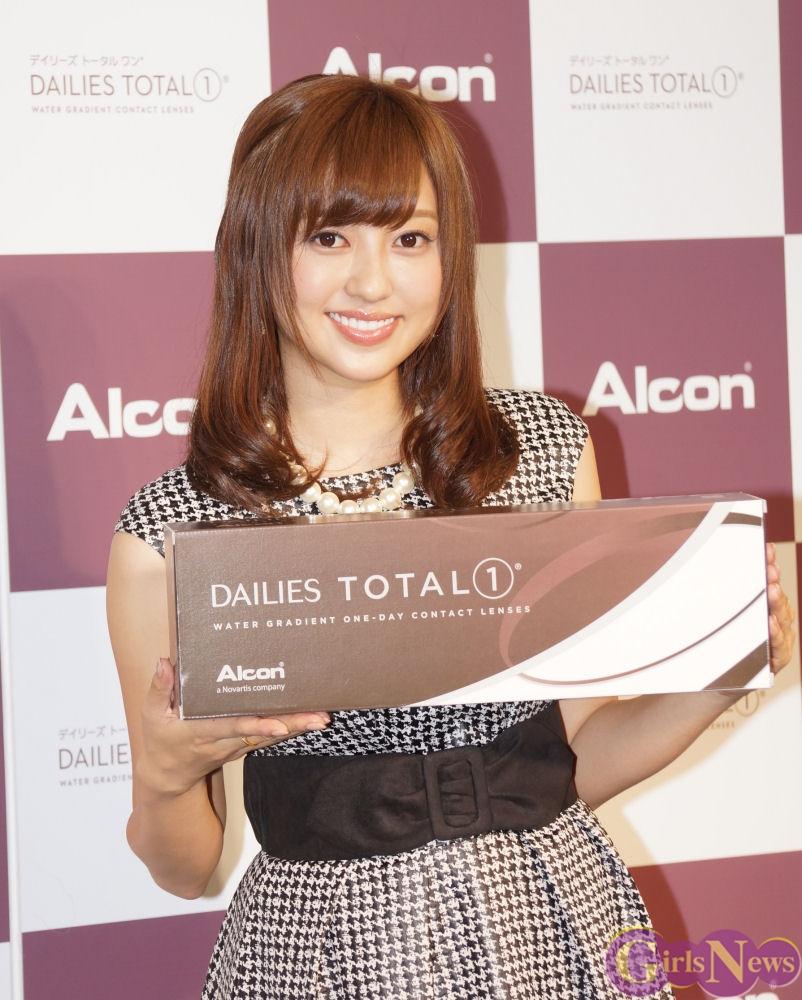 顔の肌がきれいな菊地亜美さん