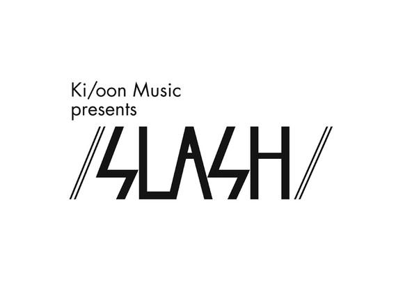 「/ SLASH /」ロゴ (okmusic UP\'s)