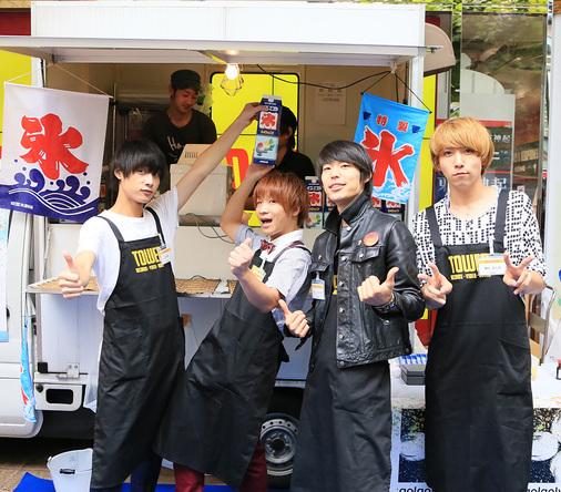 8月20日@「バニラ祭り」 (okmusic UP's)