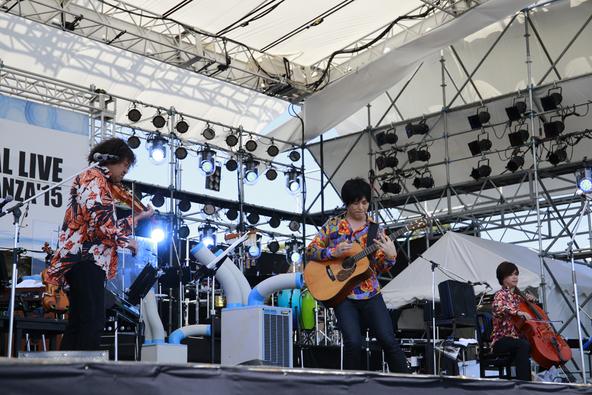 8月22日(土)@情熱大陸 SPECIAL LIVE SUMMER TIME BONANZA'15【押尾コータロー】 (okmusic UP's)