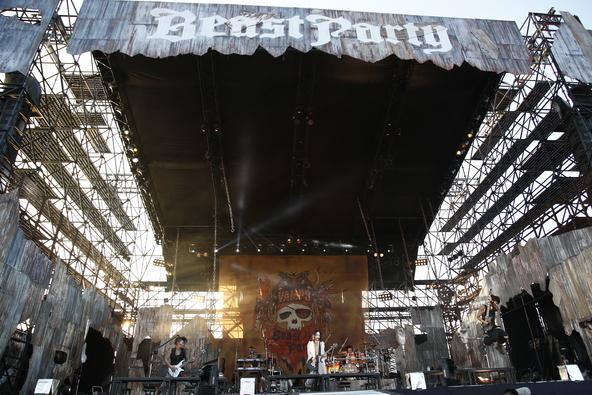 8月22日(土)@『BEAST PARTY』 (okmusic UP's)