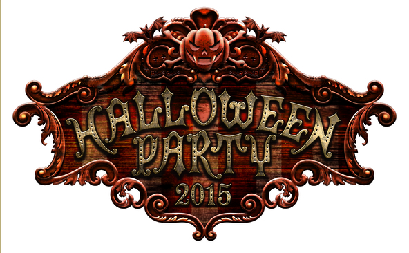 『HALLOWEEN PARTY 2015』ロゴ (okmusic UP's)