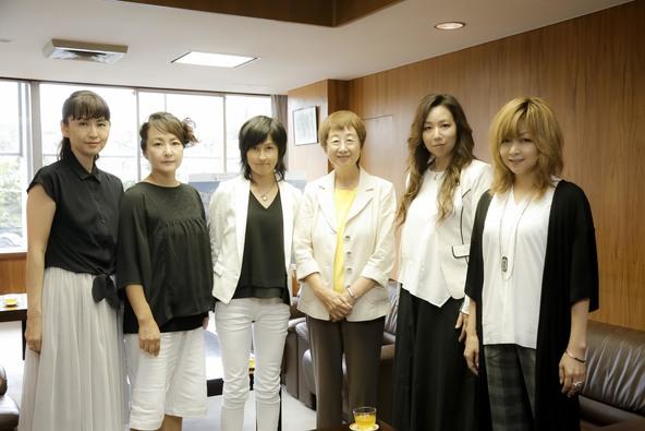 プリンセス プリンセスのメンバー5人が仙台市役所で会見 (okmusic UP's)