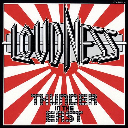 アルバム『THUNDER IN THE EAST』(1985年発売当時のオリジナルジャケット) (okmusic UP's)