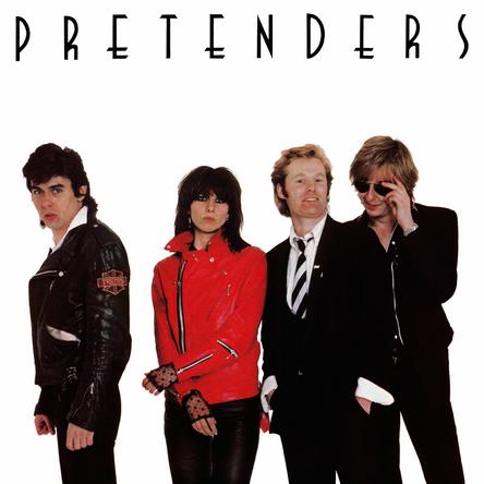 the PRETENDERS『PRETENDERS』のジャケット写真 (okmusic UP\'s)
