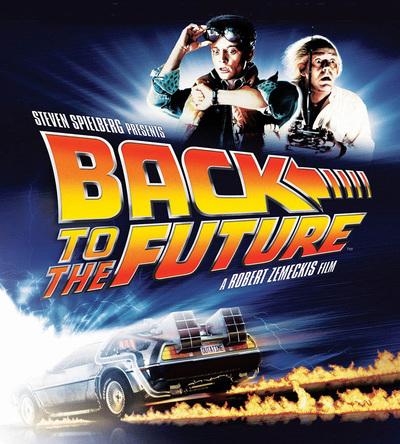 「バック・トゥ・ザ・フューチャー」 ™ & (C) Universal Studios and U-Drive Joint Venture.  (okmusic UP's)