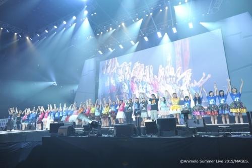 """大盛況のうちに幕を閉じた""""アニサマ2015""""がBSプレミアムにて6週連続放送決定(写真は8月28日公演の模様) (C)Animelo Summer Live 2015/MAGES. (okmusic UP\'s)"""