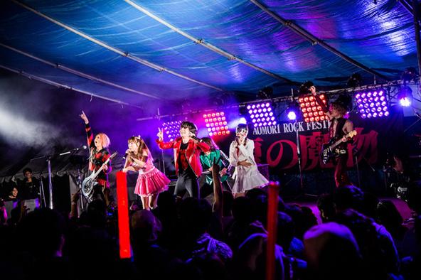 9月12日@「AOMORI ROCK FESTIVAL 2015〜夏の魔物〜」 (okmusic UP's)