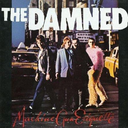THE DAMNED 『MACHINE GUN ETIQUETTE』のジャケット写真 (okmusic UP\'s)
