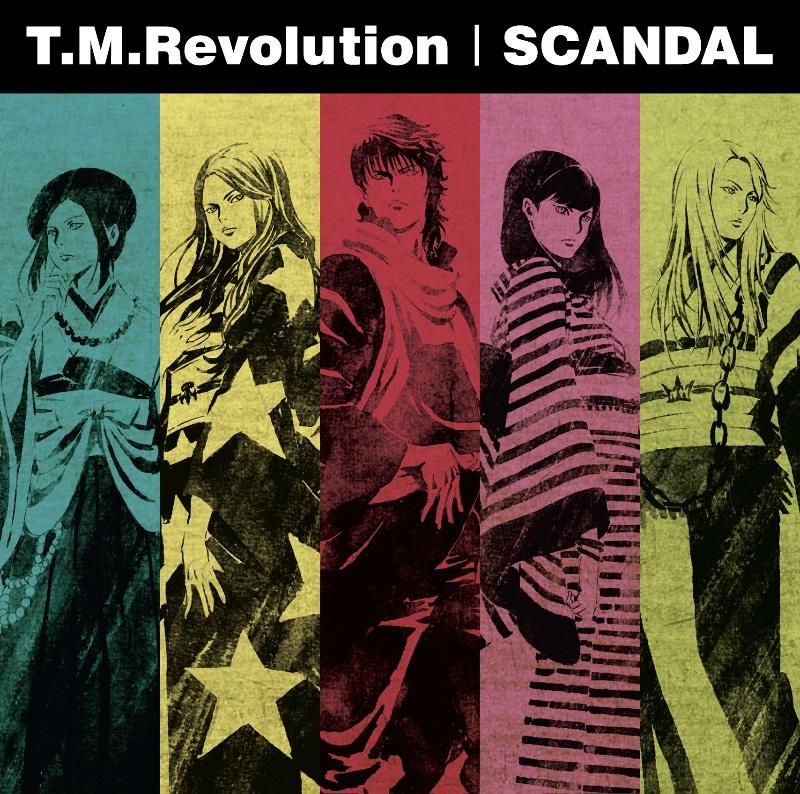 T.M.Revolution×SCANDAL、スプリ...