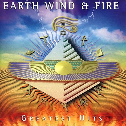 Earth,Wind&Fire『Greatest Hits』のジャケット写真 (okmusic UP's)