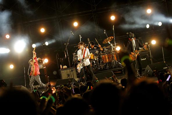 9月22日@東京・日比谷野外大音楽堂 (okmusic UP's)
