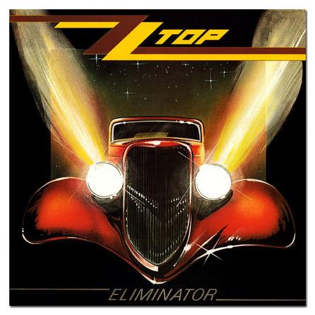 ZZ Top『Elminator』のジャケット写真 (okmusic UP's)